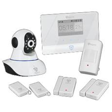 ATLANTIS LAND - Kit di sorveglianza avanzato Alarm 750-GSM Allarme...