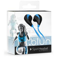 Auricolari Sportivi Bluetooth Universali - Rq5 Azzurri