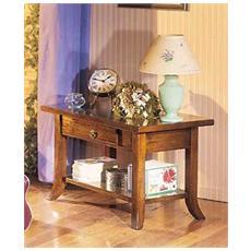 Tavolino Legno Massello L. 80 P. 47 H. 50