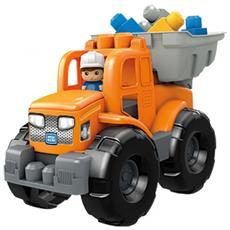 Veicolo Kit II First Builders Ribaltabile 2 In 1 Arancione