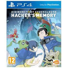 PS4 - Digimon Cybersleuth Hacker's Memory