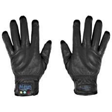 HI-FUN - Hi-call Leather Black Medium - Guanto Cornetta Bluetooth 915c00a9157a