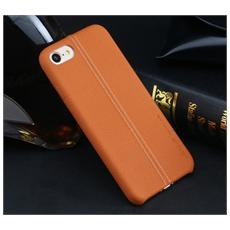 Custodia Cover Protezione Joe Leather Hard Case Marrone Per Iphone 7