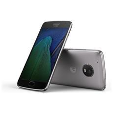 "Moto G5 Plus Grigio 32 GB 4G/LTE Display 5.2"" Full HD Slot Micro SD Fotocamera 12 Mpx Android Europa"