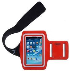 Custodia Fascia Da Braccio Sport Armband Rosso X Samsung S3 I9300 / s4 I9500 I9505
