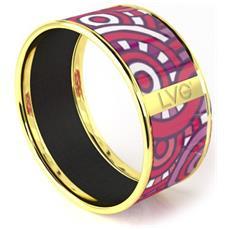 Legend Vogue - Oro Giallo Bangle Bracelet Alice's Wonderland Mixed - Lvg 020