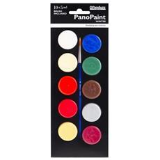 Pittura Pano Inverno–5ml X10+ 1pennello