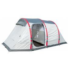 Tenda da Campeggio Sierra Ridge Air Pro X4 per 4 Persone Colore Grigio / Rosso