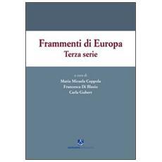 Frammenti di Europa. Terza serie