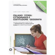 Italiano. Storia. Cittadinanza e Costituzione. Geografia