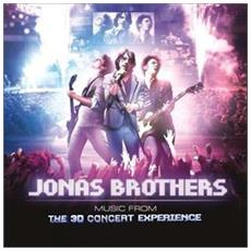 Cd Jonas Brothers-3d Concert Experienc
