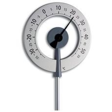 Termometro da Giardino con Freccia Nera Antracite 12.2055.10