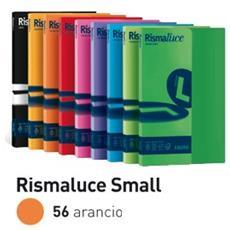 conf. 100 Carta colorata 90g Rismaluce arancio A69E144