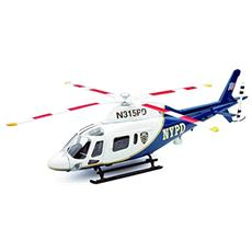 Ny25923 Elicottero Agusta 1 119 Koala Nypd 1:43 Modellino