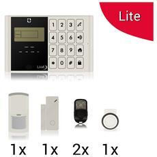 Kit Lite M2c Antifurto Allarme Casa Kit Wireless Senza Fili Controllabile Da Cellulare Con App Gratuita. Menã¹ Con Sintesi Vocale In Italiano E Manuale In Italiano