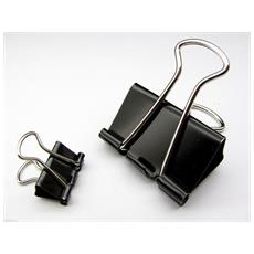 12x Binder Clips 25 Mm Mollette Cancelleria Piatto Per Stampante 3d Reprap Prus