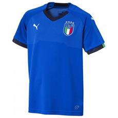 Figc Italia Kids Home Shirt Repl. Ss T-shirt Junior Cm 152
