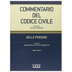 Commentario del Codice civile. Delle persone
