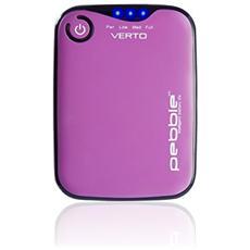 PowerBank Pebble Verto Caricabatterie portatile esterna da 3700 mAh - Rosa