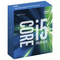 Processore Core i5-6600K (Skylake) Quad-Core 3.5 GHz GPU Integrata HD 530 Socket LGA 1151 Moltiplicatore Sbloccato Boxato (Senza Dissipatore)