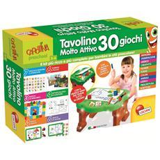 56590 - Carotina Tavolino Molto Attivo 30 Giochi