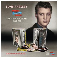 Elvis Presley - Memphis Recording Service: The Complete Works 1953 - 1955 (2 Cd + 100 Page Hard Book)