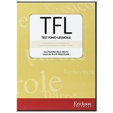 TFL test fono-lessicale. Valutazione delle abilità lessicali in età prescolare. CD-ROM