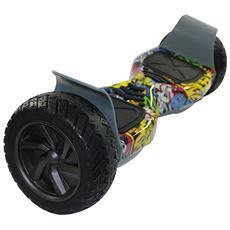 Hoverboard Monopattino Elettrico Smart Balance Pedana Due Ruote Scooter Allroad Suv Skateboard 8.5 Pollici Con Bluetooth Hip-hop