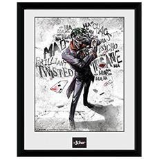 Comic - Joker Type (stampa In Cornice 30x40 Cm)