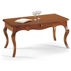 Tavolino In Legno Da 110x59x50h