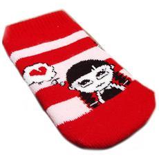 mobile sock '' bianco rosso - [ e7164]