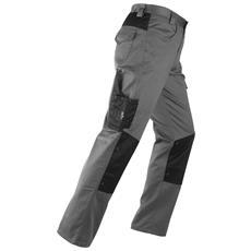 Pantalone da Lavoro Multitasche Kavir Tg. M Colore Grigio / Nero