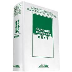 Memento contratti d'impresa 2011