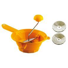 Passaverdura 2 Dischi Colore Arancione