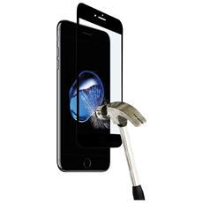 Pellicola Vetro Edge to Edge per iPhone 7 Plus - Black