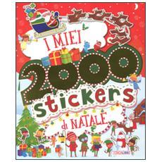 Miei 2000 stickers di Natale. Con adesivi (I)