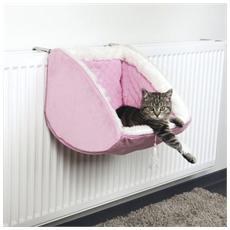Amaca per radiatori Cat Princess in peluche