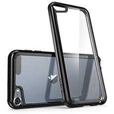 Apple Ipod Itouch 5 / 6 Generation Custodia, [ antigraffio] I-blason Trasparente [ halo Series] Copertura E Paraurti Della Cassa Ipod (trasparente) (nero)