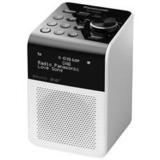 Radio Portatile RF-D20BTEG-W DAB+ / FM Colore Bianco
