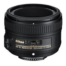 Obiettivo 50mm F / 1.8 G Attacco Nikon AF-S