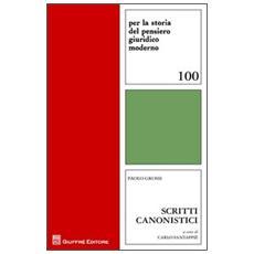 Scritti canonistici