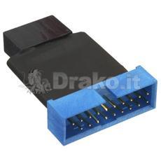 Adattatore interno da USB 3.0 a USB 2.0