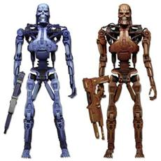 Robocop Vs. The Terminator Action Figures 2 Pack Endoskeleton 18 Cm