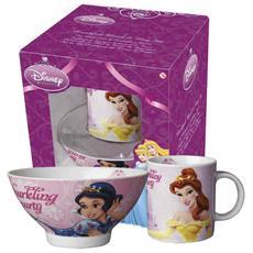 Set Scodel Mug Disney Princess Prima Colazione