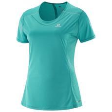 T-shirt Donna Agile Ss Xs Verde