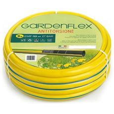 Tubo Irrigazione mod. Gardenflex misura 1/2 lunghezza 25mt Antitorsione 4 strati