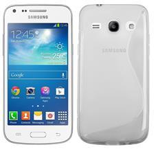 Cover S-Line Trasparente per Samsung Galaxy Core Plus G350