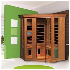Sauna A Infrarossi Corneno Iv Cedro 21422