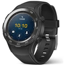 "Smartwatch Watch 2 Resistente all'acqua IP68 Display 1.2"" 4GB Bluetooth / Wi-Fi con NFC e GPS Nero - Italia"