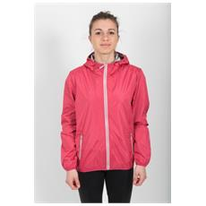 Giacca Donna Outdoor Light Weight Rosso 48
